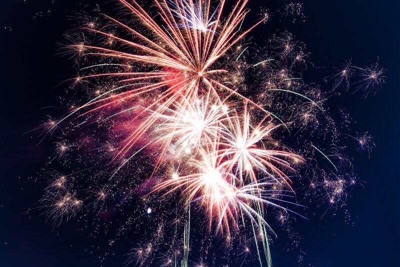 Nowy Rok - fajerwerki