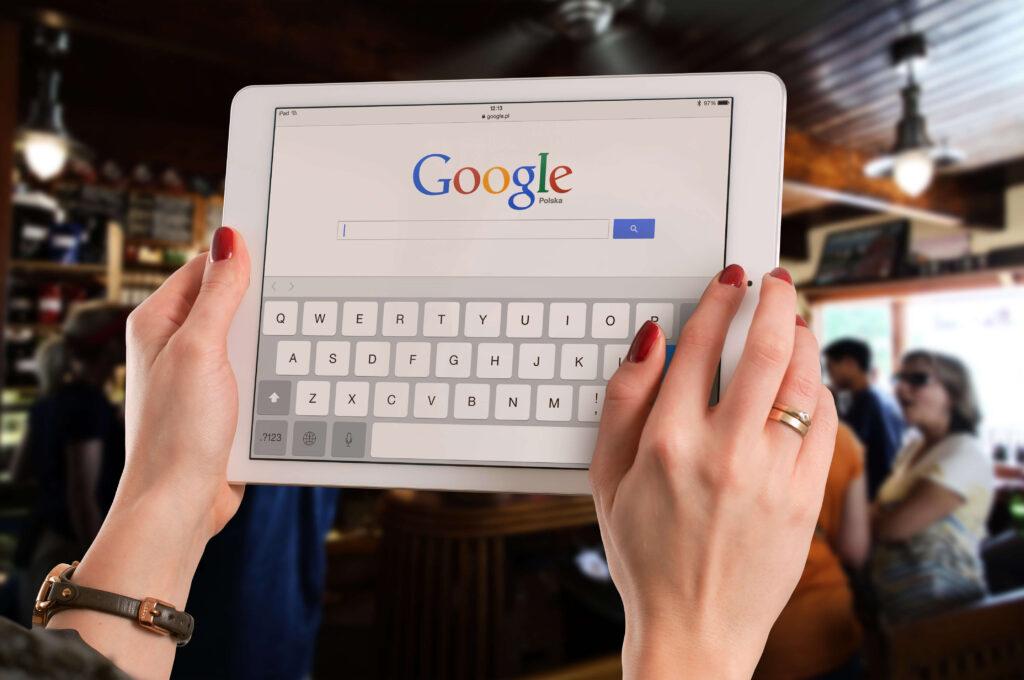 Ipad z Google