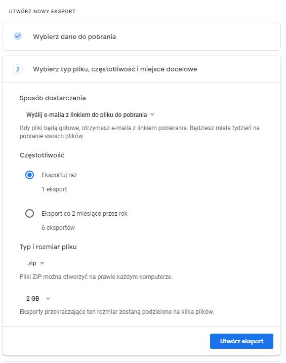 Pobieranie historii Google2
